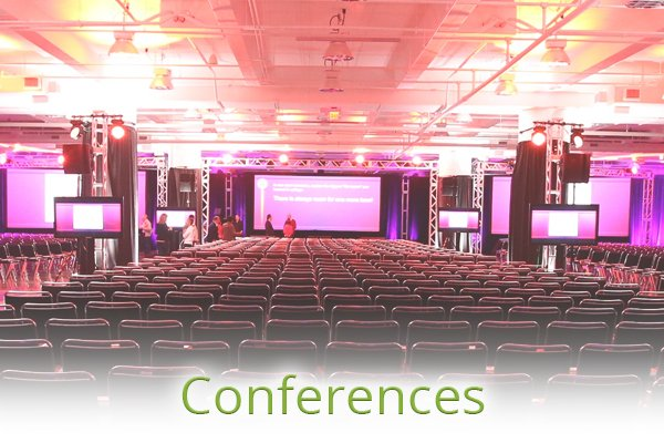 Services - Plan Your Event - Conferences