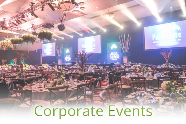 Services - Plan Your Event - Corporate Events