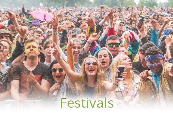 Services - Plan Your Event - Festivals